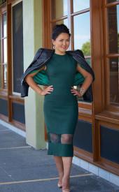 Altana-Danzhalova-Red-Green-Dress