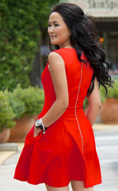 Altana-Danzhalova-Red-Wool-Blend-Dress